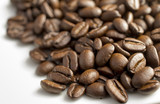 coffee beans on white background - 192378280