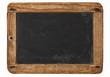 Quadro Vintage chalkboard wooden frame white background