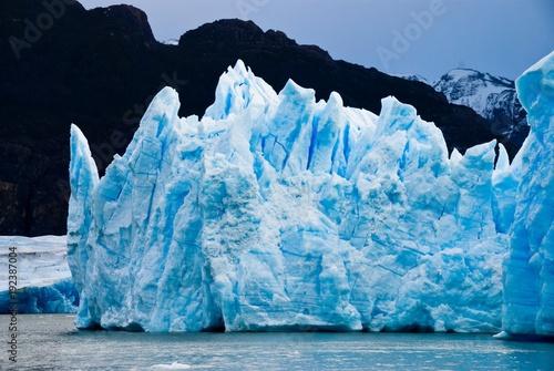 Fotobehang Antarctica Ice Burg Floating on Water during Daytime