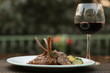 Lamb Chop with Wine