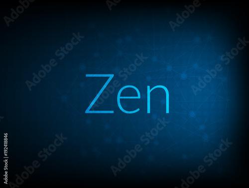 Zen abstract Technology Backgound