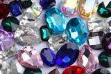 Precious jewels as background, closeup - 192420257