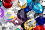 Precious jewels as background, closeup - 192420259