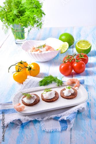 Papiers peints La Mer du Nord tasty crab salad