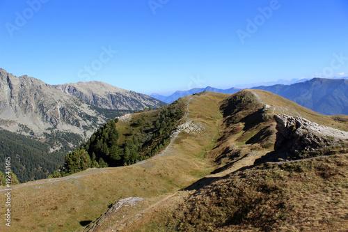 Fotobehang Zomer Montaña de Pontechianale