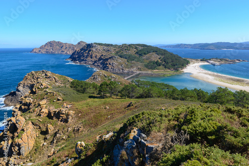 Cies Islands, National Park Maritime-Terrestrial of the Atlantic Islands, Galicia, Spain