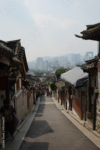 Foto op Canvas Seoel Korean Old town