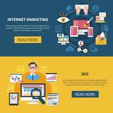 Internet Marketing Banners - 192452408