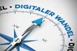 Digitaler Wandel auf Kompass