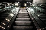 scale mobili in stazione