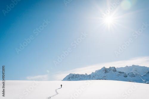 Foto op Aluminium Blauw Südtirol