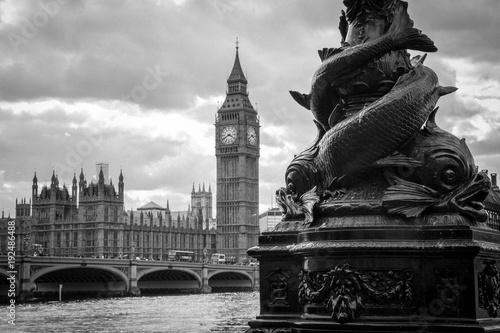 Keuken foto achterwand London Big Ben Westminster Bridge