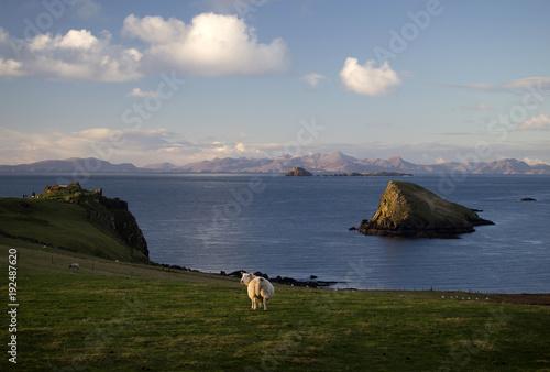 Papiers peints Vieux rose Isle of Skye, Scotland