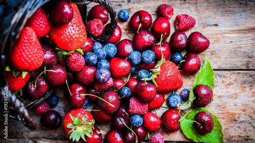 Foto Murales fruit