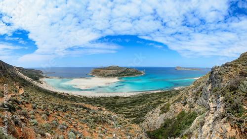 Deurstickers Tropical strand Zatoka Balos, Kreta, Grercja