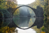 The bridge over the lake. Travelling to Europe - 192502650