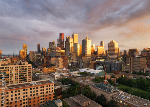 In de dag Toronto Toronto skyline, Canada