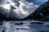 Snowy Sunrise in Colorado