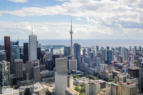 Fotobehang Toronto Aerial Toronto, Canada