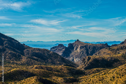 Fotobehang Blauwe jeans Mt Lemmon in Tucson Arizona