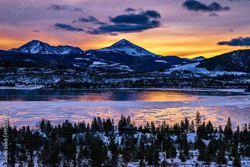 Poster Sunrise in Breckenridge, Colorado