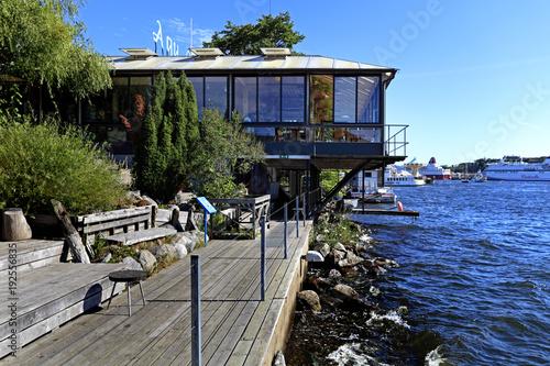 Foto op Canvas Stockholm Stockholm, Sweden - Aquaria - aquarium and oceanarium on the Djurgarden Island