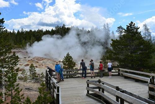 Papiers peints Vieux rose Trip to Yellowstone National Park, USA
