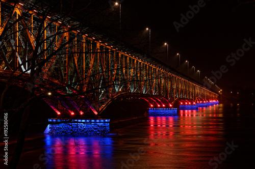 Sticker Most na Wiśle w Płocku