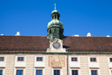 Facade of Amalienburg with sundial - 192581886