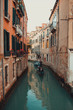 Quadro Romantic canals of Venice - Italy.