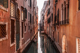 Romantic canals of Venice - Italy.
