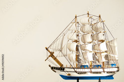Aluminium Schip Miniature ship