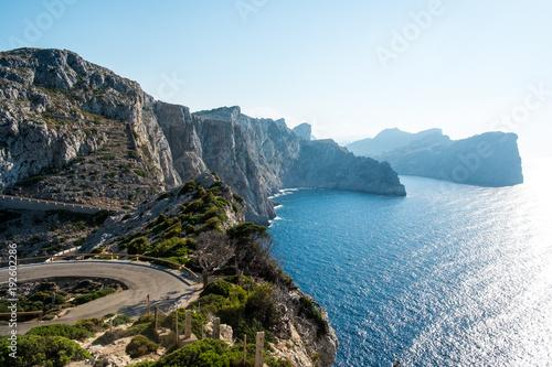 Formentor Cape in Mallorca island
