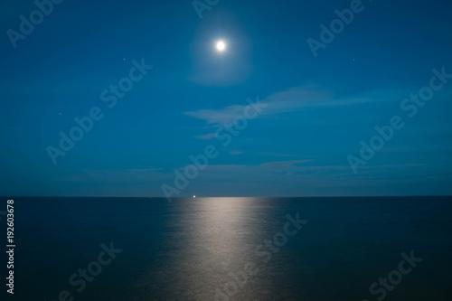 Foto op Aluminium Zee zonsondergang Holiday UK
