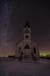 Abandoned Church at Night