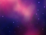 abstract space vector background with stars nebula