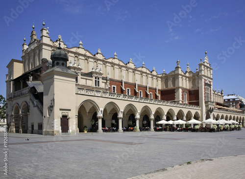 Aluminium Krakau Cloth Hall (Sukiennice) on Main square in Krakow. Poland
