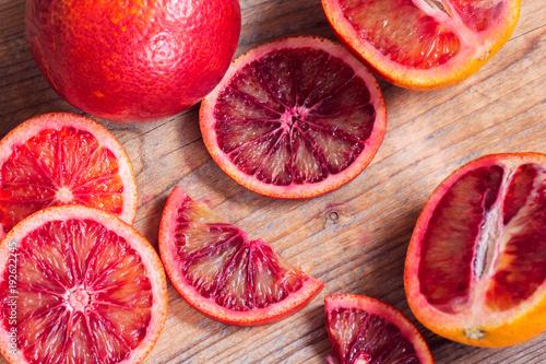 Sicilian oranges as a background