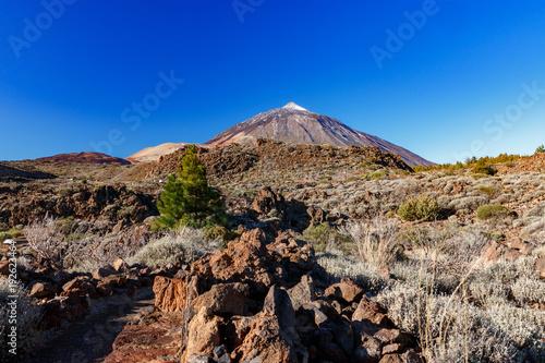 Aluminium Cappuccino Wulkan Teide, Teneryfa, Wyspy Kanaryjskie