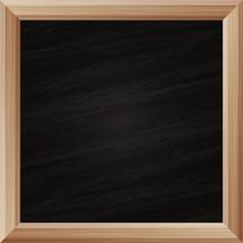 Texture Ardoise  Tableau Noir Avec Cadre En Bois Sticker