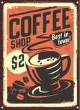 Vintage Coffee House design.
