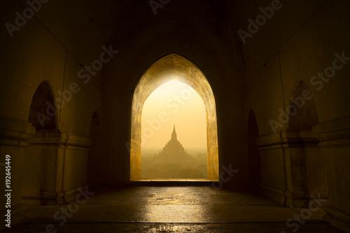 Foto Murales Buddhist temple in Bagan