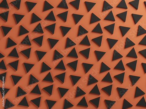 Orange and black two color textured background