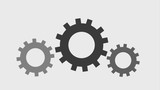 gears spinning icons animation design - 192660648