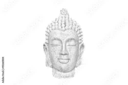 Staande foto Boeddha Z o r b a   The Buddha   White