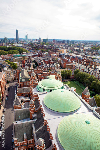 Keuken foto achterwand London South London skyline