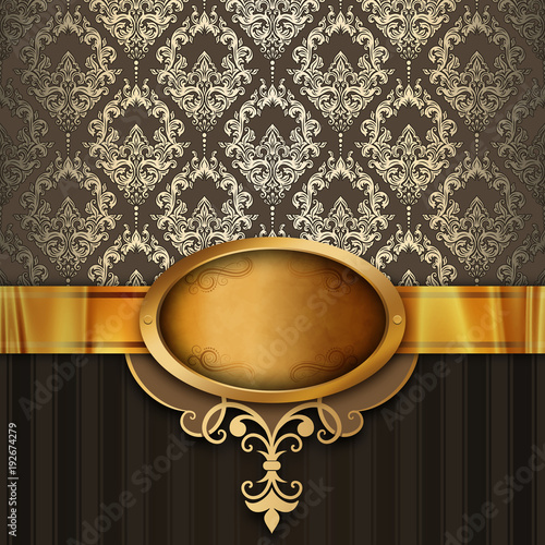 vintage-luxury-background-with-golden-frame