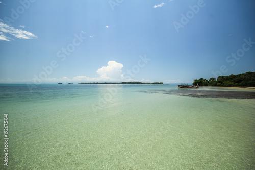 Fotobehang Olijf Mak island Koh Mak Trat Thailand
