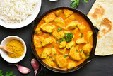 Indian chicken curry - 192685078
