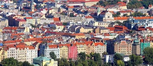 Tuinposter Praag Panoramic View of Prague the capital